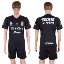 2017-2018 Club Men Nuevo Leon Autonomous University Of Tiger Second Away Suits Soccer Jersey