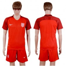 2017-2018 National Men Usa Away Suits Soccer Jersey