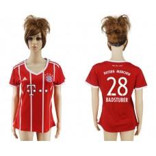 2017-2018 Club Bayern Munich home aaa verion women 28 soccer jersey
