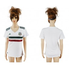 2017-2018 national Mexico away aaa verion women Soccer jerey