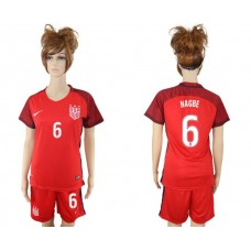2017-2018 national women United States away 6 soccer jersey