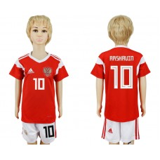 2018 World Cup Russia home kids 10 red soccer jersey