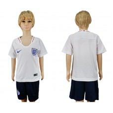 2018 World Cup England home kids red soccer jersey