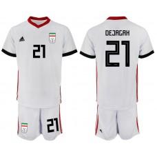 2018 World Cup Men Iran home 21 soccer jersey