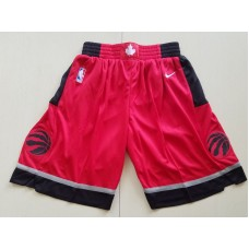 2018 Men NBA Nike Toronto Raptors Red shorts