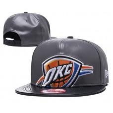 2018 NBA Oklahoma City Thunder Snapback hat GSMY818