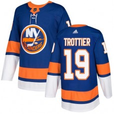 Adidas Men NEW York Islanders 19 Bryan Trottier Royal Blue Home Authentic Stitched NHL Jersey