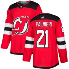 Adidas Men New Jersey Devils 21 Kyle Palmieri Red Home Authentic Stitched NHL Jersey
