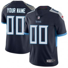 2019 NFL Men Nike Tennessee Titans Navy Blue Hom Customized Vapor Untouchable Limited jersey