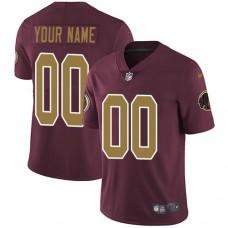 2019 NFL Men Nike Washington Redskins Alternate Burgundy Red Customized jersey