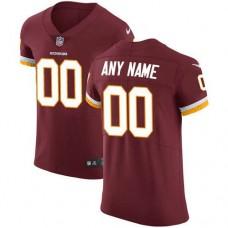 2019 NFL Men Nike Washington Redskins Customized Burgundy Red Team Color jersey