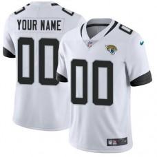 2019 NFL Youth Nike Jacksonville Jaguars White Stitched Custom NFL Vapor jersey