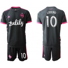 Men 2019-2020 club Seattle Sounders away 10 black Soccer Jerseys