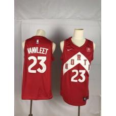 2019 Men Toronto Raptors 23 Vanvleet red NBA Nike Jerseys