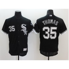 2016 MLB FLEXBASE Chicago White Sox 35 Thomas Black Jerseys
