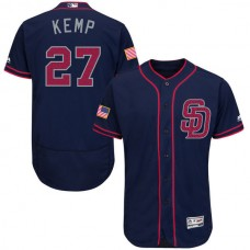 2016 MLB FLEXBASE San Diego Padres 27 matt kemp Blue Fashion Jerseys