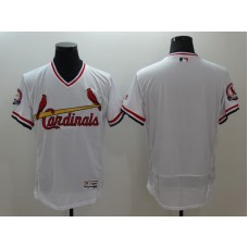 2016 MLB St. Louis Cardinals Blnak White Elite Fashion Jerseys