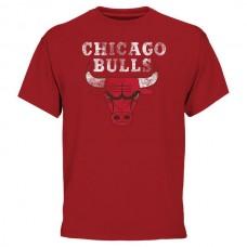2016 NBA Chicago Bulls Big & Tall Team T-Shirt - Red