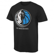 2016 NBA Dallas Mavericks Noches Enebea T-Shirt - Black