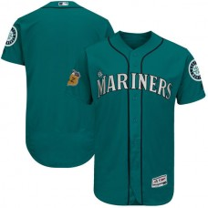 2017 MLB Seattle Mariners Blank Green Jerseys
