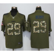 2016 Kansas City Chiefs 29 Berry Salute To Service New Nike Limited Jersey