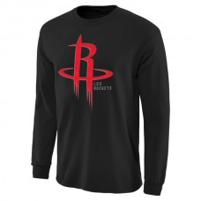 2016 NBA Houston Rockets Noches Enebea Long Sleeve T-Shirt - Black