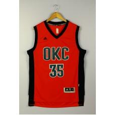 2016 Oklahoma City Thunder 35 DURANT red Jersey