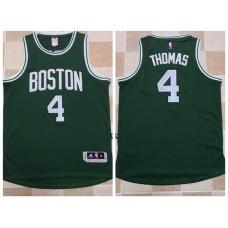 2017 NBA Boston Celtics 4 Isaiah Thomas Green Jerseys