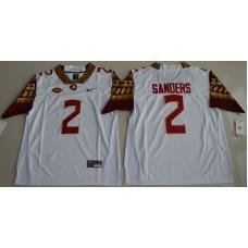 2016 NCAA Florida State Seminoles 2 Deion Sanders White College Football Limited Jersey