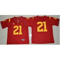 2016 NCAA USC Trojans 21 Adoree' Jackson Red College Football Jersey