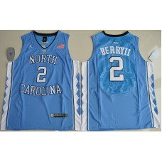 2016 North Carolina Tar Heels Joel Berry II 2 College Basketball Blue Jersey