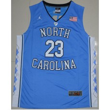 2016 North Carolina Tar Heels Michael Jordan 23 College Basketball Jersey - Carolina Blue