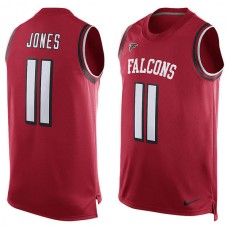 2016 Atlanta Falcons 11 Julio Jones  Nike Player Name & Number Tank Top - Red