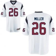 2016 Houston Texans 26 MILLER white Nike Kids Jerseys