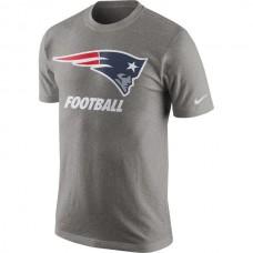2016 NFL New England Patriots Nike Facility T-Shirt - Heathered Gray