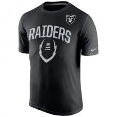 2016 NFL Oakland Raiders Nike Legend Icon Performance T-Shirt - Black