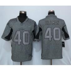 2016 New Nike Arizona Cardinals 40 Tillman Gray Men's Stitched Gridiron Gray Limited Jersey
