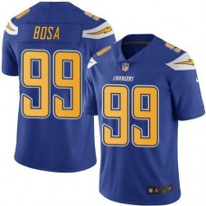 2016 Nike San Diego  Chargers 99 Joey Bosa Electric Blue Men Stitched NFL Limited Rush Jersey