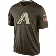2016 Mens Arizona Diamondbacks Salute To Service Nike Dri-FIT T-Shirt