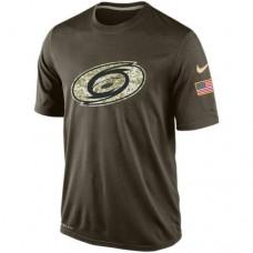 2016 Mens Carolina Hurricanes Salute To Service Nike Dri-FIT T-Shirt