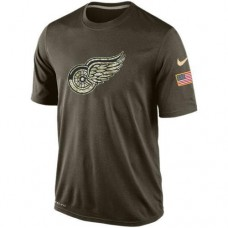 2016 Mens Detroit Red Wings Salute To Service Nike Dri-FIT T-Shirt