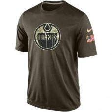 2016 Mens Edmonton Oilers Salute To Service Nike Dri-FIT T-Shirt