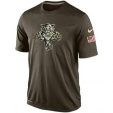 2016 Mens Florida Panthers Salute To Service Nike Dri-FIT T-Shirt