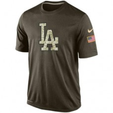 2016 Mens Los Angeles Dodgers Salute To Service Nike Dri-FIT T-Shirt