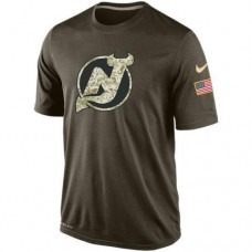 2016 Mens New Jersey Devils Salute To Service Nike Dri-FIT T-Shirt