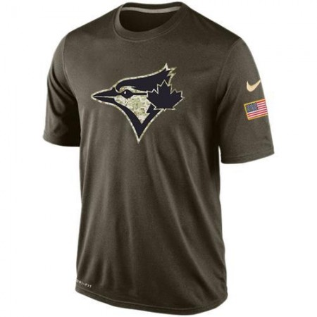 2016 Mens Toronto Blue Jays Salute To Service Nike Dri-FIT T-Shirt