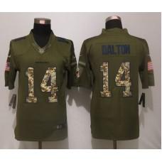 Cincinnati Bengals 14 Dalton Green Salute To Service New Nike Limited Jersey