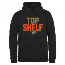 2016 NHL Anaheim Ducks Top Shelf Pullover Hoodie - Black