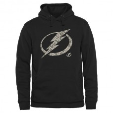 2016 NHL Mens Tampa Bay Lightning Black Rink Warrior Pullover Hoodie