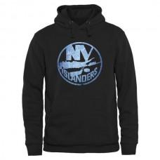 2016 NHL New York Islanders Rinkside Pond Hockey Pullover Hoodie - Black